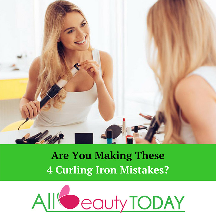 Curling Iron Mistakes