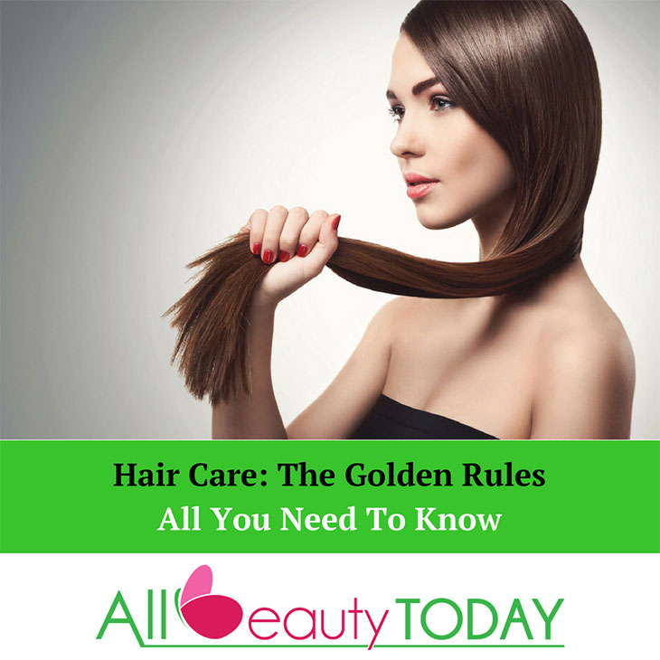golden rules of hair care