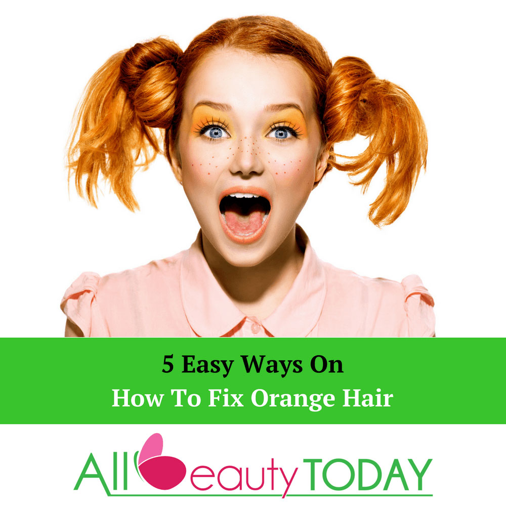 How To Fix Orange Hair