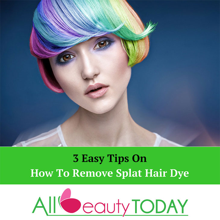 How To Remove Splat Hair Dye