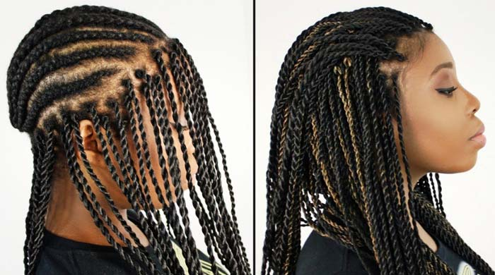 Installing The Senegalese Twists