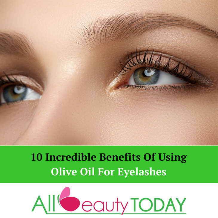 Olive Oil For Eyelashes