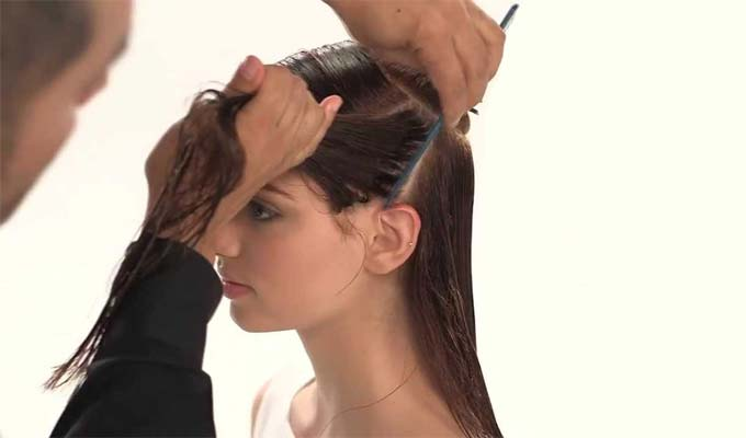 Roll your hair