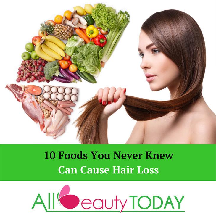 food causes hair loss