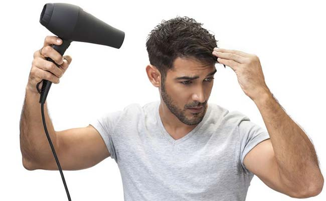 hairdryer men