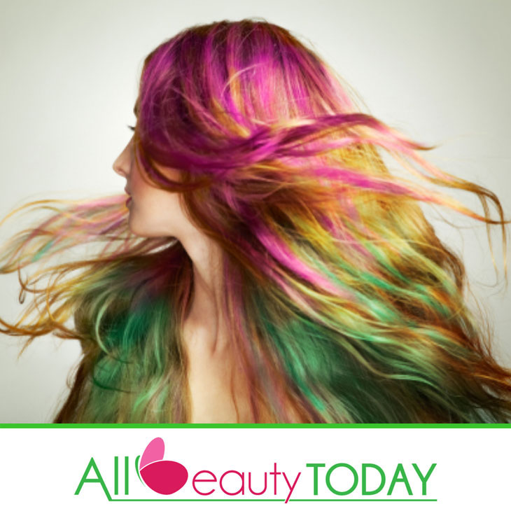 Rainbow Color Hair Ideas