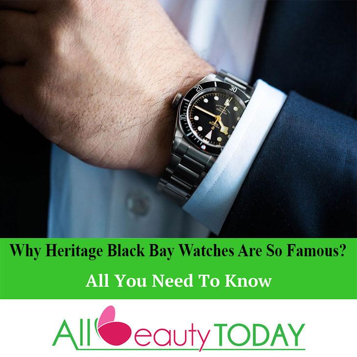 Heritage Black Bay Watches