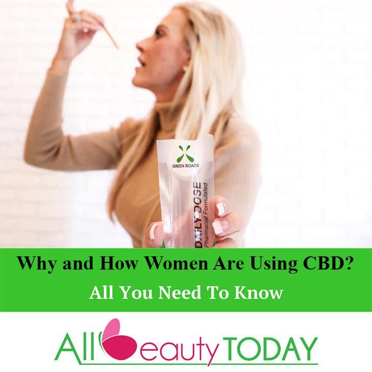 Women Are Using CBD