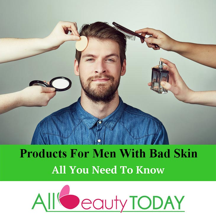 Products for Men with Bad Skin