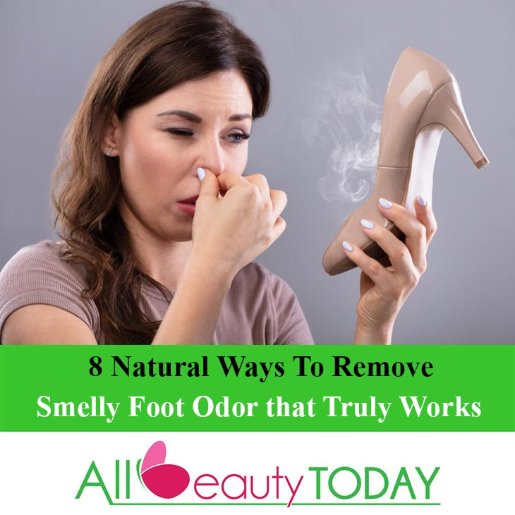 Remove Smelly Foot Odor