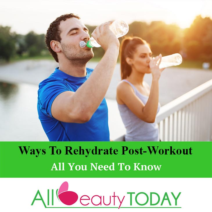 Rehydrate Post-Workout