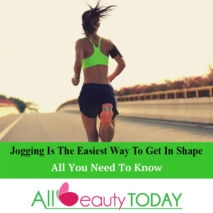 Jogging Is The Easiest Way To Get In Shape