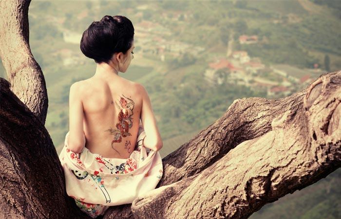 Beauty Of Japanese Tattoos