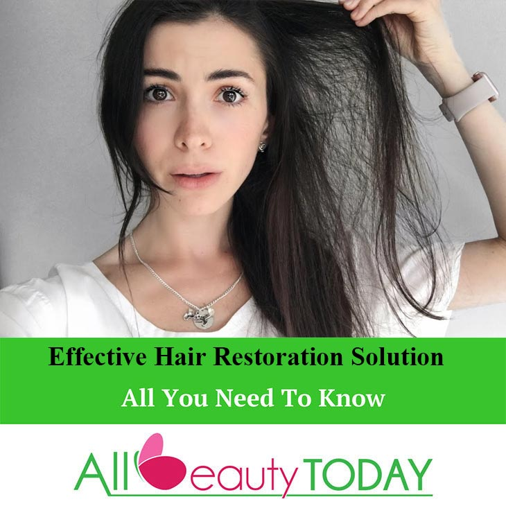 Effective Hair Restoration Solution