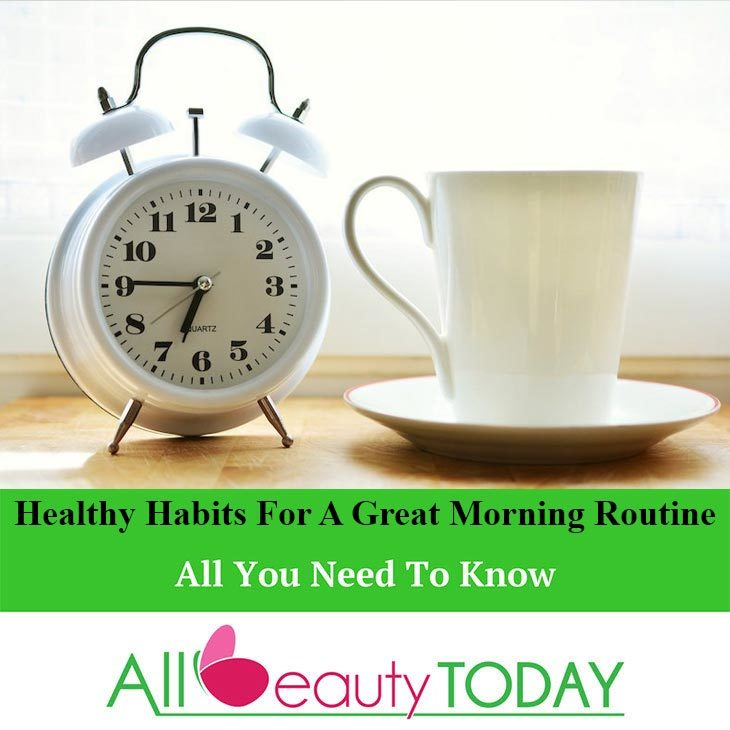 Healthy Habits for a Great Morning Routine