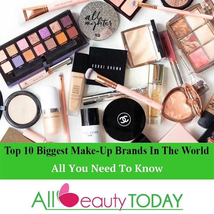 Top 10 Biggest Make-Up Brands in the World