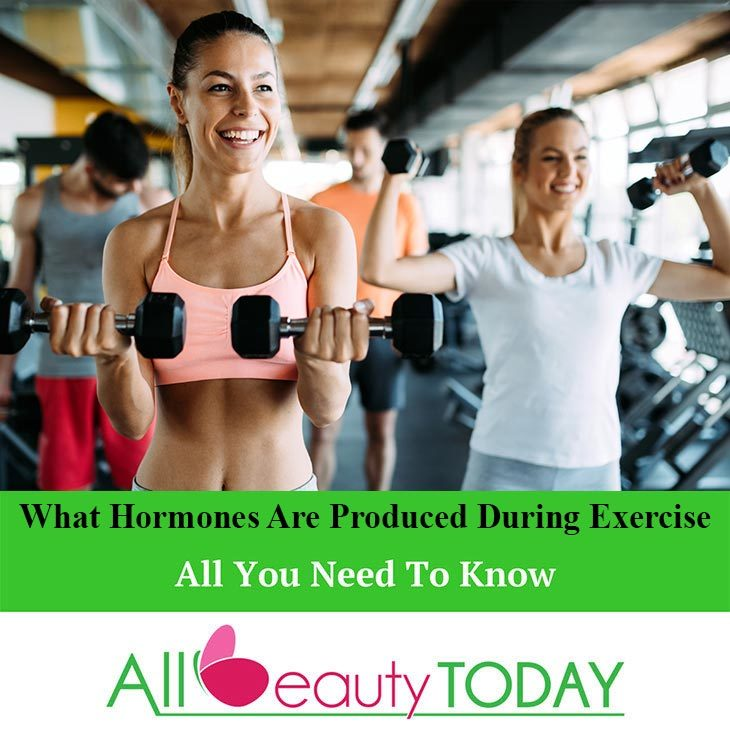 what hormones are produced during exercise