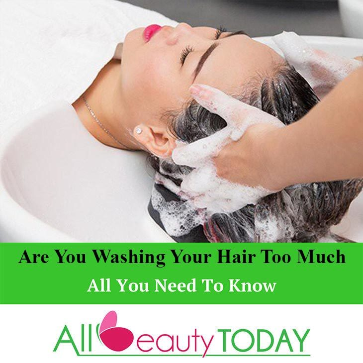 Are You Washing Your Hair Too Much