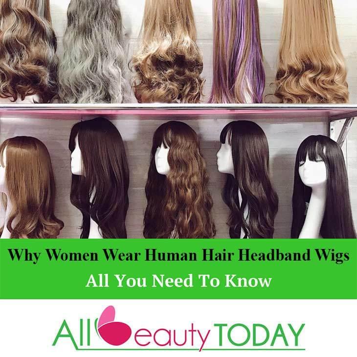 Why Women Wear Human Hair Headband Wigs